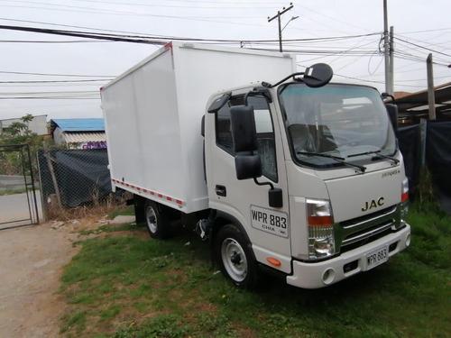 Camión De Carga Seca Jac Jhr, Con Gps.