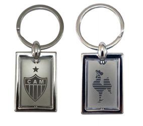 Chaveiro Giratório Escudo Galo - Atlético Mineiro