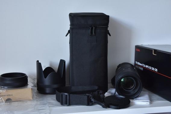 Lente Sigma Nikon 70-200mm 1:2.8 Apo Dg Hsm