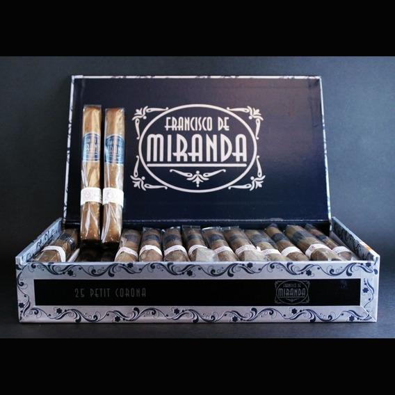 Cigarros Francisco De Miranda Petit Corona X 25 Dominicanos