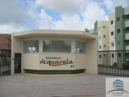 Apartamento A Venda Acquarela , Rosa Dos Ventos, Parnamirim