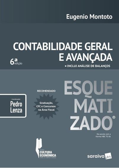 Contabilidade Geral Avançada Esquematizado - 6ª Ed. 2019
