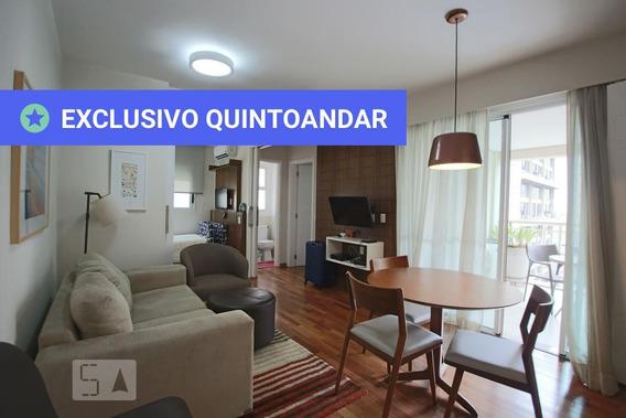 Apartamento No 7º Andar Mobiliado Com 2 Dormitórios E 1 Garagem - Id: 892967639 - 267639