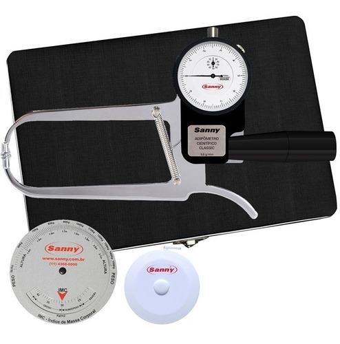 Adipômetro/plicômetro Aço Carbono Científ Sanny C/ Anvisa