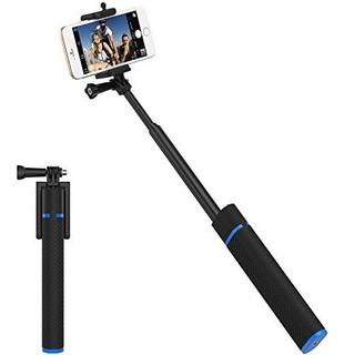 Sabrent Bluetooth Selfie Stick Con Cargador De Bateria Incor