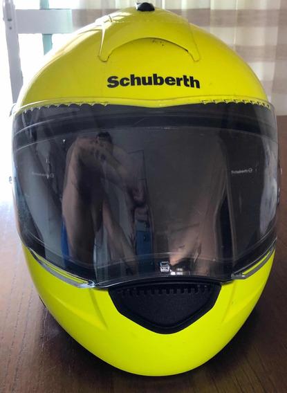 Capacete Schuberth C3 Amarelo Neon