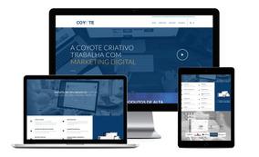 Criar Site Profissional - Responsivo + App Android Promoção