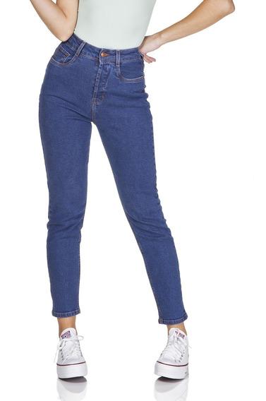 Calça Jeans Denim Zero Mom Fit Estonada-dz3209