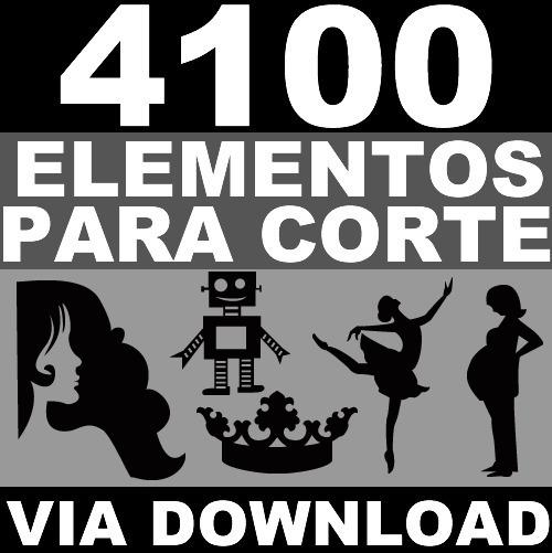 4100 Elementos Basicos P/ Corte Silhouette Svg Dxf Vetores 3
