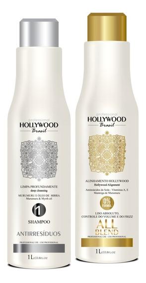 Realinhamento All Blend + Shampoo Antirresíduos