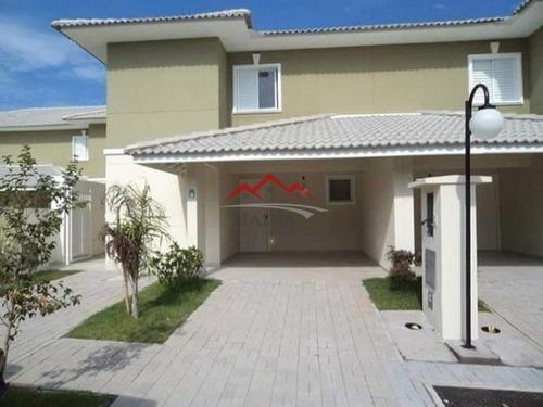 Imagem 1 de 19 de Casa A Venda Em Condomínio Nature Village Ii Em Jundiaí Sp - Ca00364 - 69235966