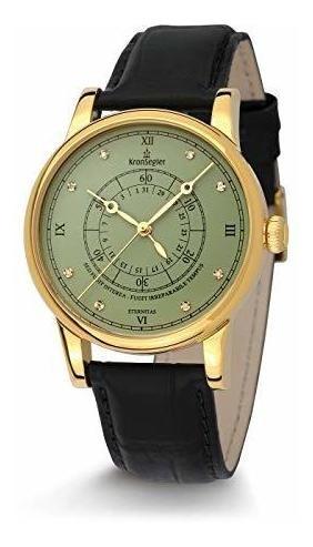 Reloj Para Hombre Eternitas Diamond Diamond Gold-pacific