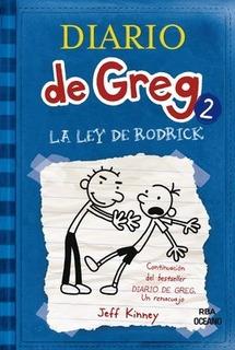 ** Diario De Greg 2 ** La Ley De Rodrick Jeff Kinney