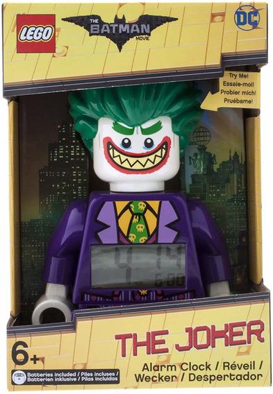 Reloj Despertador Lego Batman El Joker Original