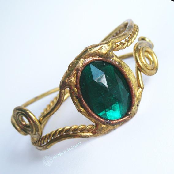 Bracelete Cigano Artesanal Com Pedrarias