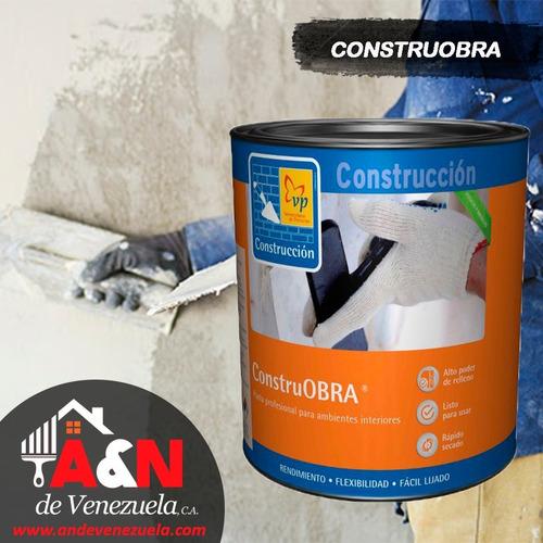Estuco Acrilico Vp Pasta Profesional Y Construobra