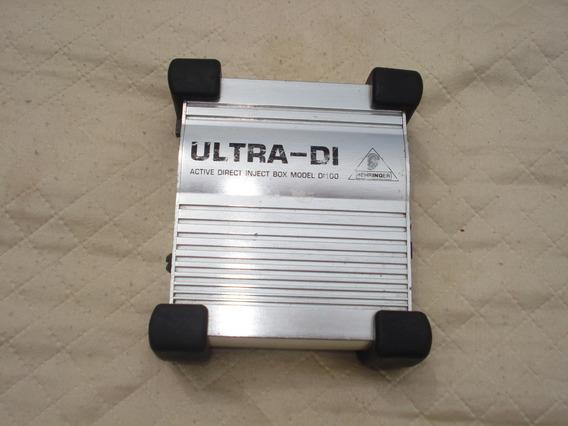 Direct Box Behringer Modelo Ultra D-i.