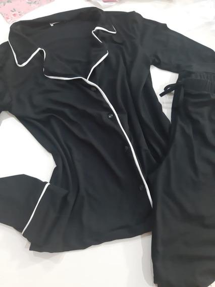 Conjunto Pijama Camisa E Calça Feminino