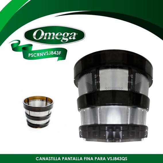 Refacción Canastilla Pantalla Fina Vsj843 Omega Pscrnvsj843f