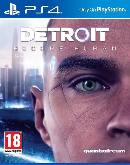 Detroit Become Human Para Ps4 Mídia Física Lacrado