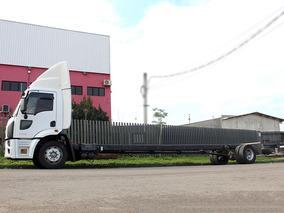 Cargo 1319 2015 Chassi Alongado Ideal Para Baú