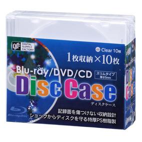 Estojo Magro Correspondente Blu-ray 10p Claro