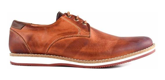 Zapato Cuero Hombre Briganti Goma Sport Confort - Hcac00752