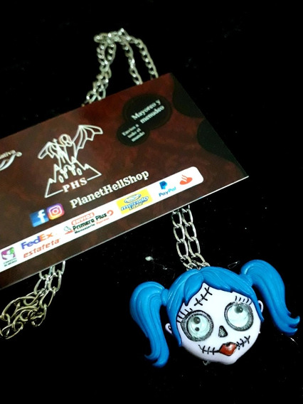 Collar Zombie Girl Monster - Planet Hell Shop