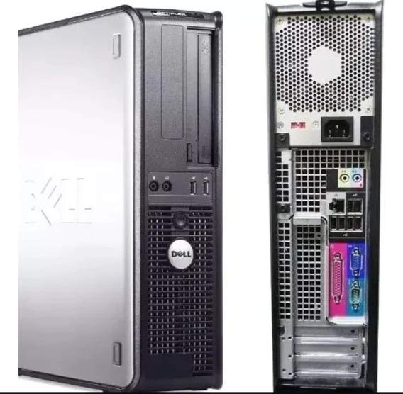 Cpu Pc Dell Intel Dual Core 4gb Hd 500