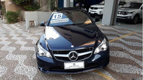 Imagem 1 de 10 de Mercedes-benz Classe E 2015 2.0 Turbo 2p Coupé
