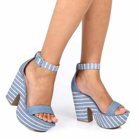 46bf7ee1a Sandalia Anabela Constance Feminino - Sapatos no Mercado Livre Brasil