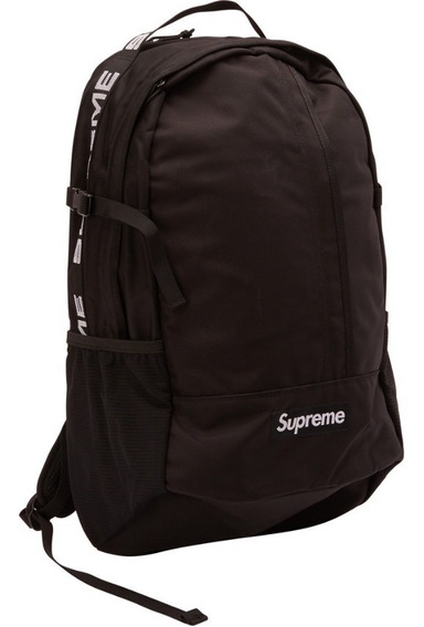Supreme Mochila Bagpack Ss18 Black Ou Red Original Sem Juros