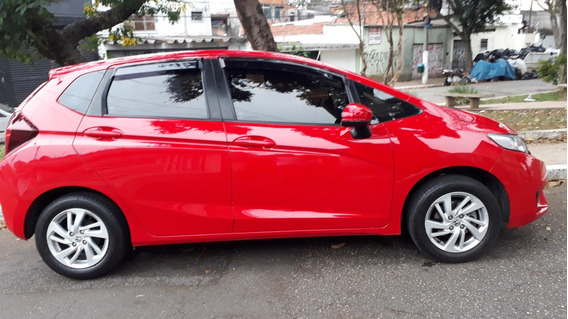Honda Fit 1.5 Ex Aut.banco De Couro - Único Dono - 2015