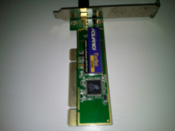 Wi-fi Pci Aquario Turbo + Antena 9dbi