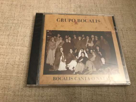 Cd Grupo Bocalis Canta O Natal Rio Grande Do Sul Raro Novo