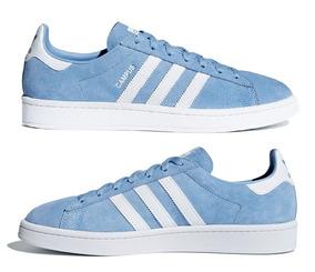 Tênis adidas Originals Campus Ash Blue Masculino.