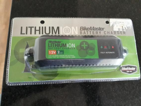 Carregador Para Baterias De Moto Ion Lithium Marca Bikemast
