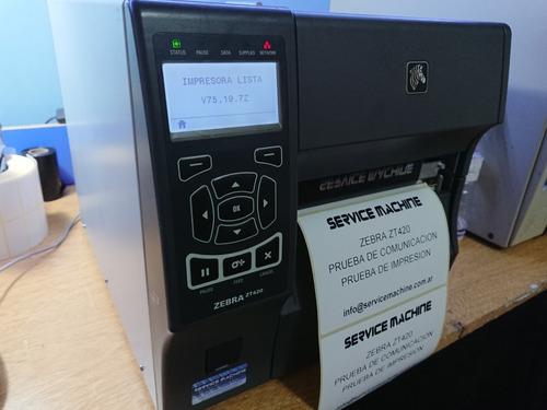Impresora Zebra Zt420  203dpi  (semi Nueva)