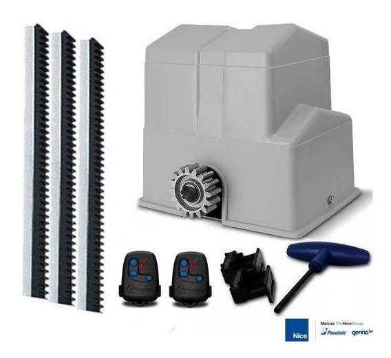 Kit Motor Deslizante Super 1/2 Cv Para Portão Peccinin
