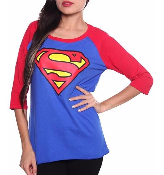 Playera Mujer Super Girl Envio Gratis