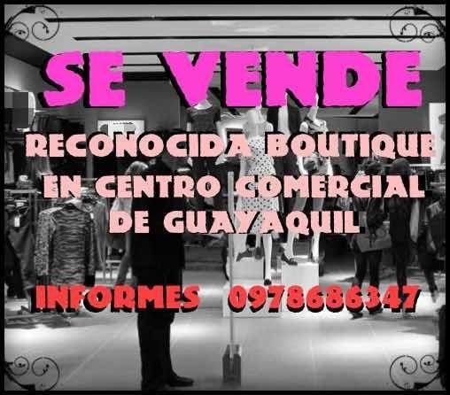 Boutique En Centro Comercial De Guayaquil