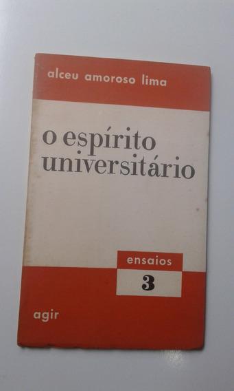 Bolsilivro - Alceu Amoroso Lima - O Espírito Universitário