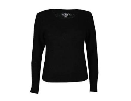Sweater, Sueter Dama Cuello Redondo Basico