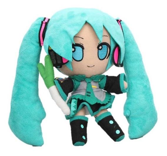 Pelúcia Hatsune Miku Vocaloid 24cm