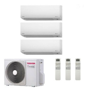 Aire Multisplit Toshiba Reparamos Instalamos Matriculados