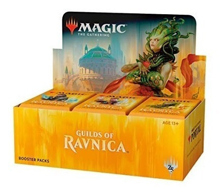 Booster Box Guilds Of Ravnica Em Português