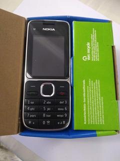Celular Nokia C2-01 Wcdma Gsm 850/900/1800/1900 Na Caixa