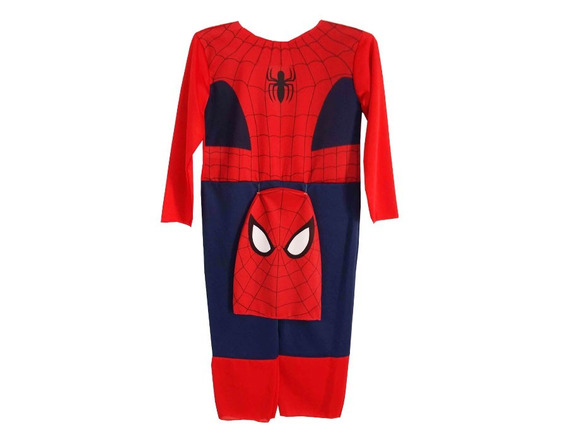 Disfraz Economico Spiderman Con Capucha New Toys Spider Man