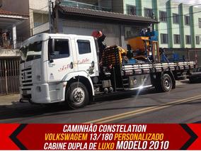 Caminhão Vw Constellation Munck Canivete 13180 Modelo 2010