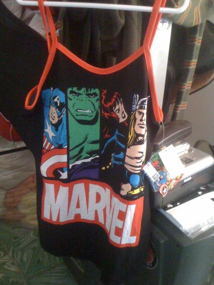 Playera Marvel Xs
